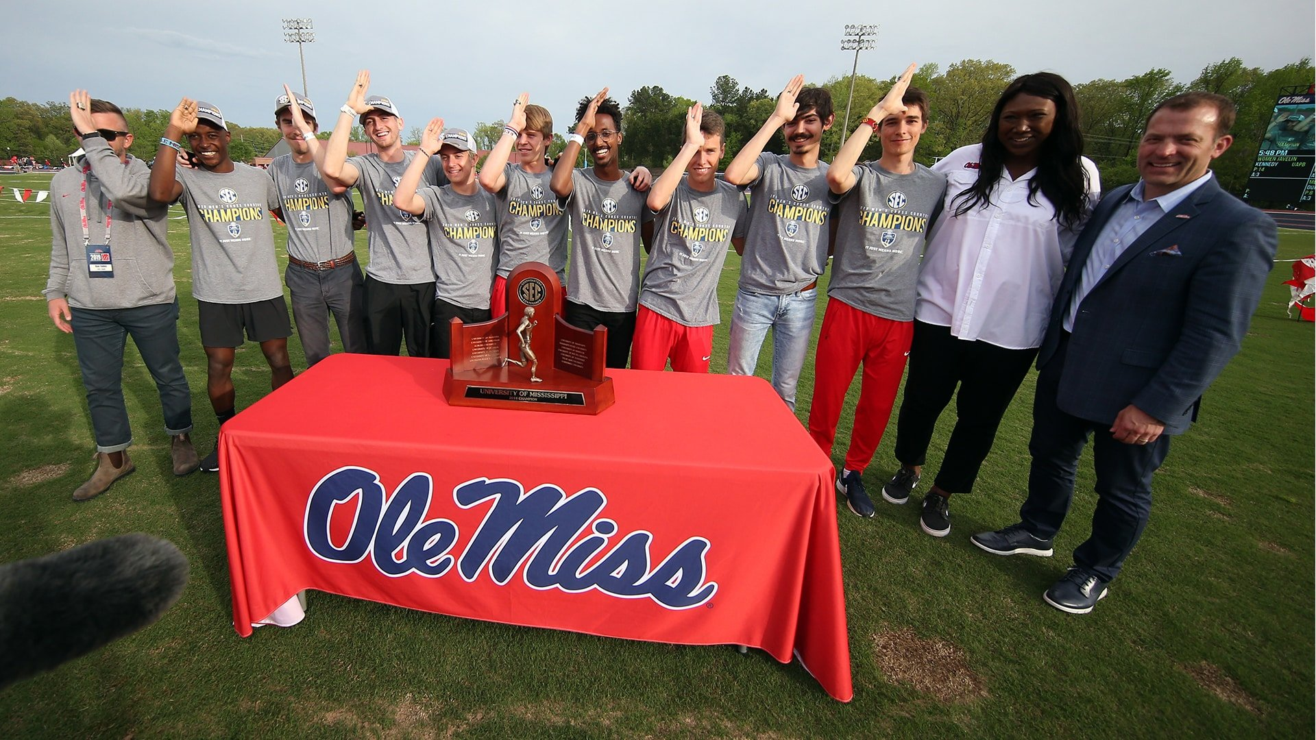 The Season: Ole Miss Track & Field - Landshark Ink (2019)