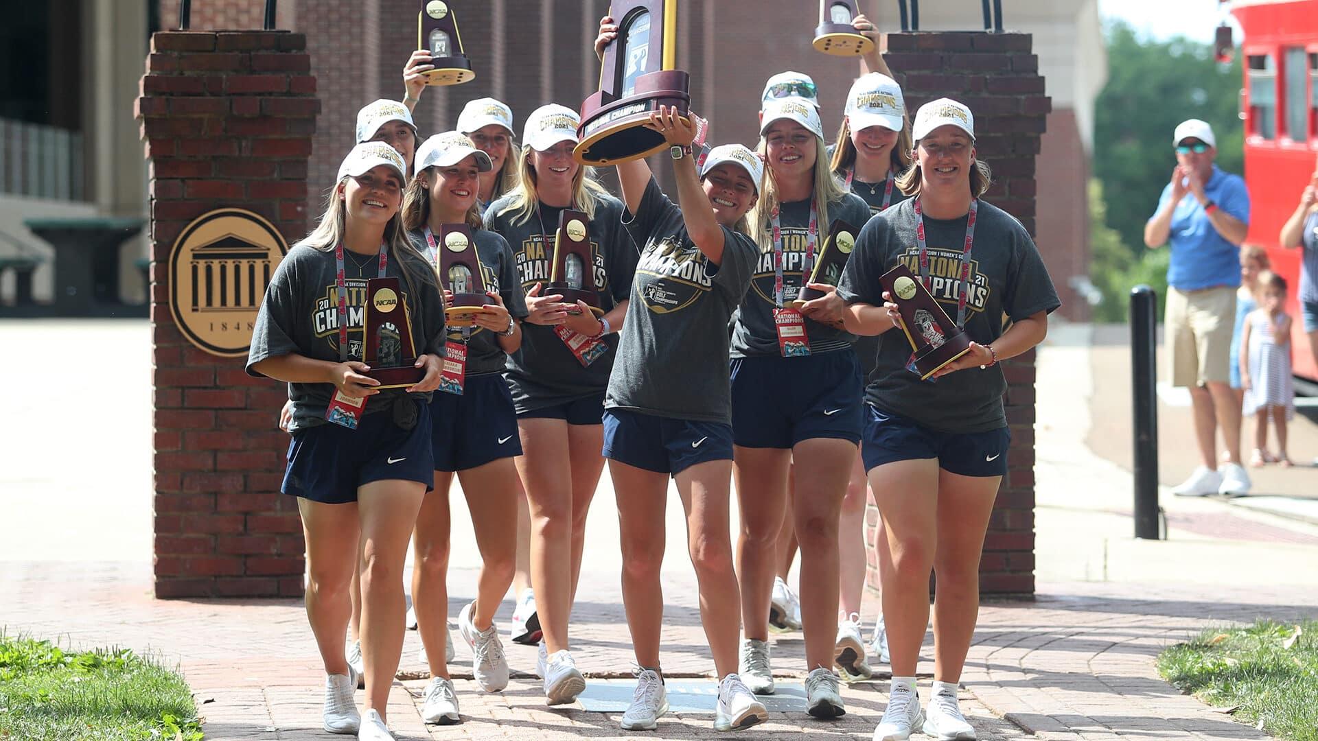 The Season: Ole Miss Women's Golf - National Champions (2021)
